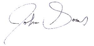 John Socas Signature